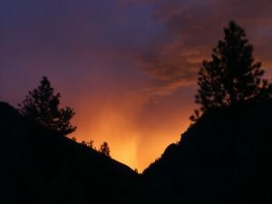 Fire  Sunset 2